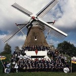"EMM Marching Band at the ""Gerarda"" Mill of Heijen"